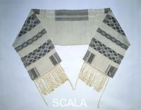 ******** Prayer shawl (Tallit). United States, 1958.