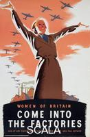 ******** 'Women of Britain Come into the Factories', c1940. WWII propoganda poster.