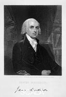 ******** James Madison, 4th President of the the United States of America, (19th century).