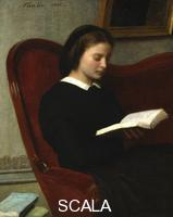 ******** The Reader, 1861.  Artist: Henri Fantin-Latour The Reader, 1861.