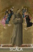 Botticelli, Sandro (1445-1510) Saint Francis of Assisi with Angels, about 1475-80