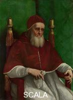 Raffaello (1483-1520) Portrait of Pope Julius II, mid-1511