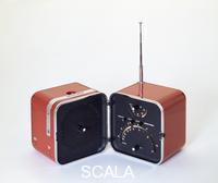 Sapper Richard (1932-) and Marco Zanuso (1916-2001). ts502 portable radio. Produced by Brionvega. Italy, 1964.