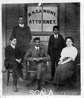 ******** Mahatma Gandhi (1869-1948) when he was a lawyer in South Africa, c. 1900