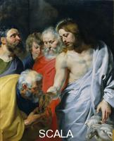 Rubens, Peter Paul (1577-1640) Christ's Charge to Peter. c. 1616
