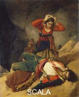 Robert, Louis Leopold (1794-1835) The Death of the Brigand. 1824
