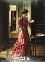 Loudan William Mouat (1868-1925) 'La lettera', 1910