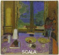 Bonnard, Pierre (1867-1947) Dining Room on the Garden. 1934-35