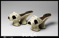 ******** Shoes (Chopines), ca. 1600