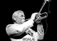 ******** Dizzy Gillespie, American jazz trumpeter, bandleader, composer and singer, Royal Festival Hall, London, July 1985. Gillespie is regarded as one of the greatest jazz trumpeters of all time.