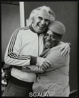 ******** Dave Brubeck and Dizzy Gillespie at the Capital Radio Jazz Festival, Alexandra Palace, London, July 1979.