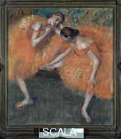 Degas, Edgar (1834-1917) Due ballerine. 1898