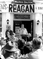 ******** Ronald Reagan campaigning in New York, c1980s.