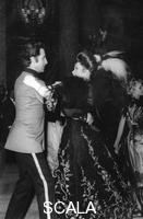 ******** Princess Grace dancing with Jacques Chazot, 1900s Grand Ball, Monte Carlo Casino, c1970s.