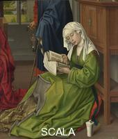 Weyden, Roger van der (1399 ca.-1464) The Magdalen Reading, before 1438