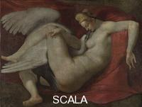 Michelangelo (Buonarroti, Michelangelo 1475-1564), copia Leda and the Swan, after 1530