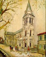 Utrillo, Maurice (1883-1955) Chiesa di St. Ausonne ad Angouleme