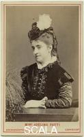 ******** Adelina Patti as Marguerite de Valois in 'Les Huguenots' by London Stereoscopic & Photographic Company. 1873