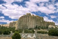 ******** El Morro National Monument along the Gallup/Zuni Loop New Mexico.For over 300 years many Spanish soldiers, priests, Indians, American soldiers and emigrants left their marks carved into the sandstone walls near one of the few water springs found in this desert like area.
