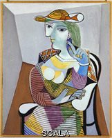 Picasso, Pablo (1881-1973) Femme assise (Ritratto di Marie-Therese), 1937