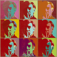 Warhol, Andy (1928-1987) Autoritratto, 1966
