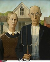 Wood, Grant (1892-1942) American Gothic, 1930