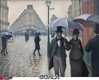Caillebotte, Gustave (1848-1894) Paris Street; Rainy Day, 1877