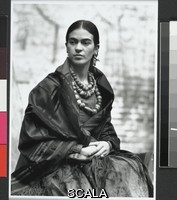 Weston, Edward (1886-1958) Frida Kahlo, n. d. Posthumous digital reproduction from original negative. Edward Weston Archive