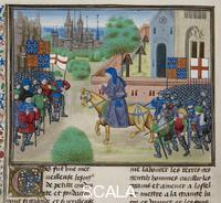 ******** The Peasants' Revolt. Royal E. I. f.175