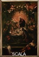 Tintoretto (Robusti, Jacopo 1518-1594) Ultima Cena, c. 1592