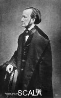 ******** Richard Wagner in una cartolina russa datata 1860
