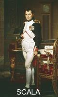 David, Jacques Louis (1748-1825) 'Napoleone nel suo studio', 1812