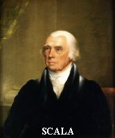 Harding, Chester (1792-1866) James Madison (1751-1836). quarto Presidente degli Stati Uniti, Ca. 1825-1830.