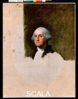 Stuart, Gilbert (1755-1828) Ritratto di George Washington.