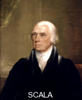 Harding, Chester (1792-1866) James Madison, quarto Presidente degli Stati Uniti. Dipinto1825-1830 ca.
