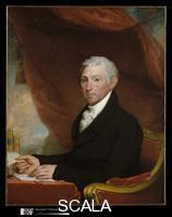 Stuart, Gilbert (1755-1828) James Monroe, 1820-22 ca.