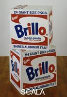 Warhol, Andy (1928-1987) Scatole ''Brillo'', 1964