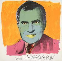 Warhol, Andy (1928-1987) Vota McGovern, 1972